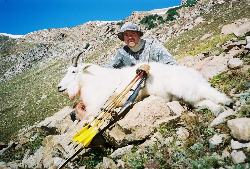 Mike Hayes Colorado Mountain goat