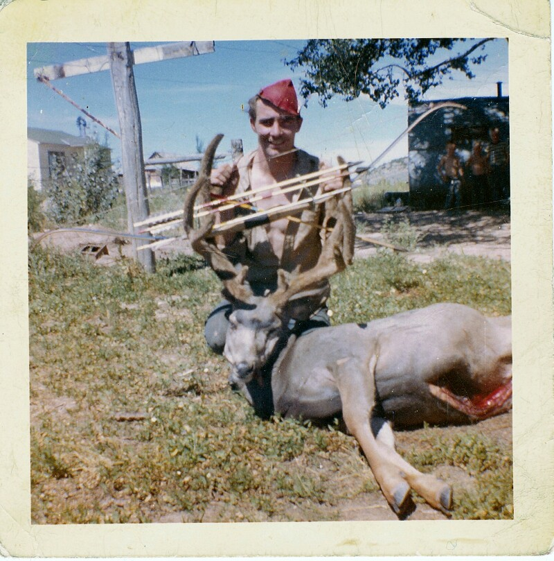 Bill Renfro UT mulie 1957