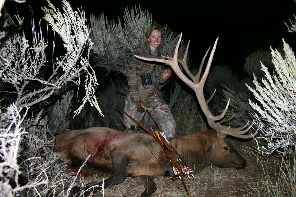 Connie Renfro CO elk 2005