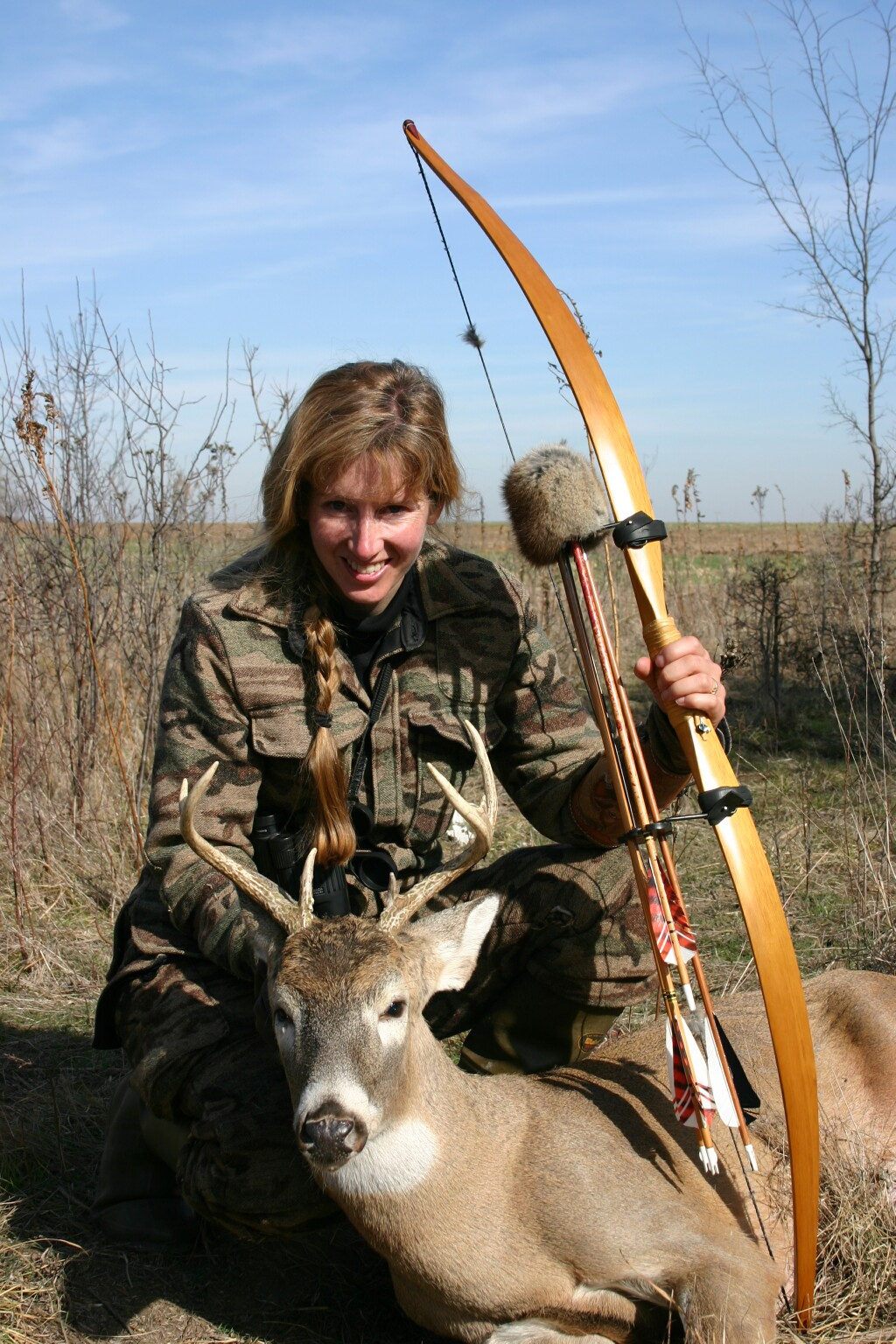Connie Renfro Selfbow Buck 2006