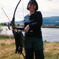 Susan Brezonick Colorado carp fishing