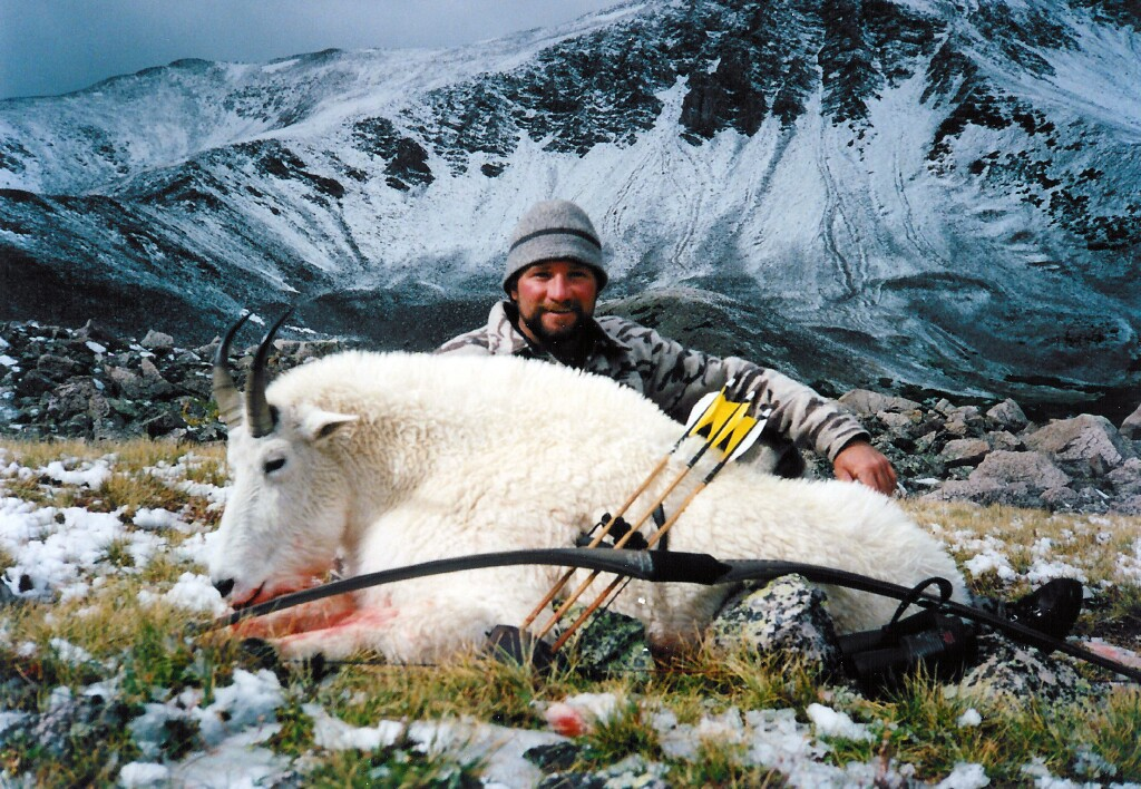 Troy Cunningham Colorado Mountain Goat